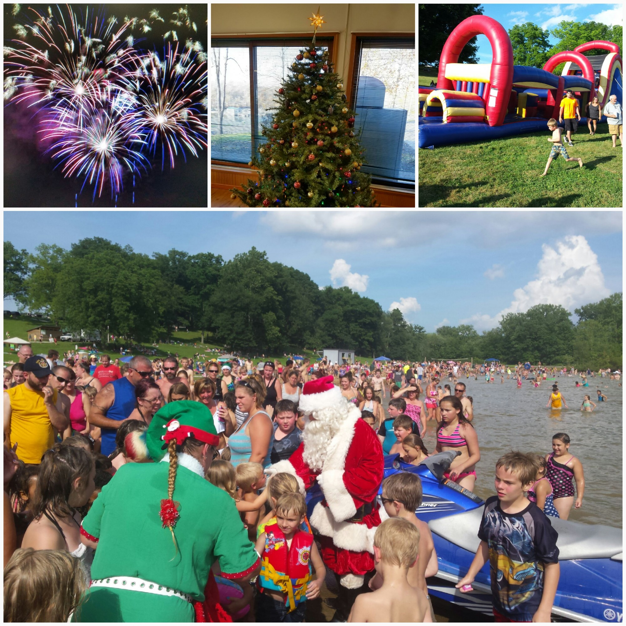 Christmas In July In 2020 At Pleasant Hill Lake CHRISTMAS in JULY  w/ Fireworks   MWCD