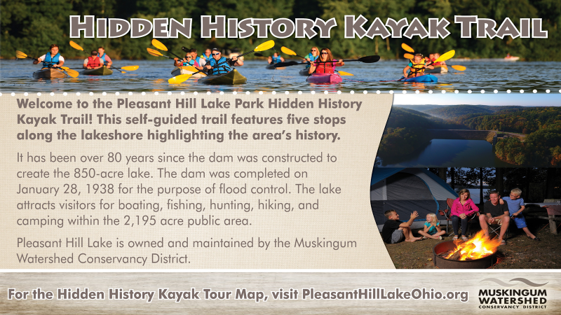 HIDDEN HISTORY KAYAK  WATER TRAIL