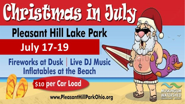 Pleasant Hill Ashland Ohio Christmas In July 2020 Christmas In July & Fireworks   MWCD