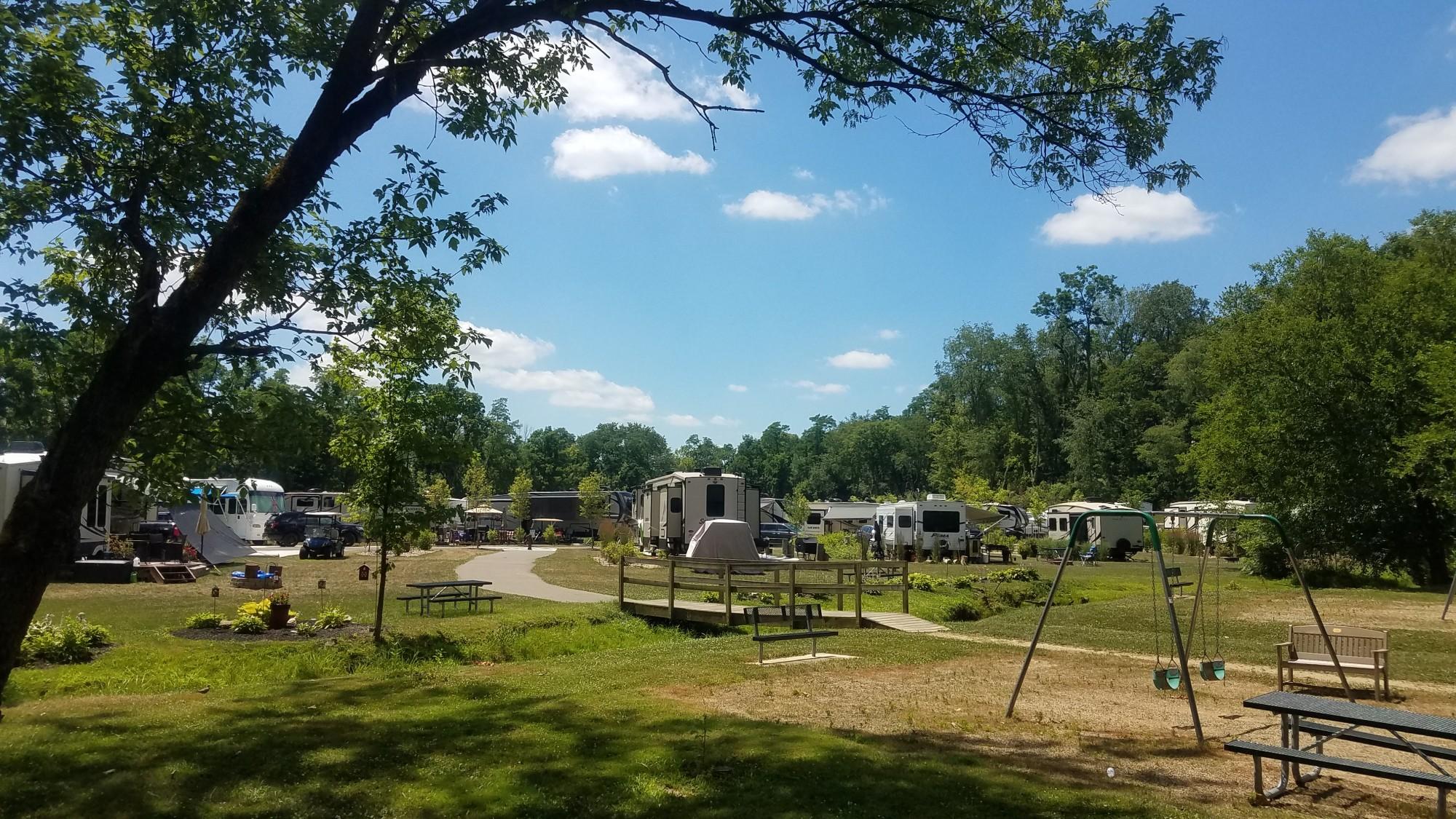 Camping Pleasant Hill Lake Park Ohio