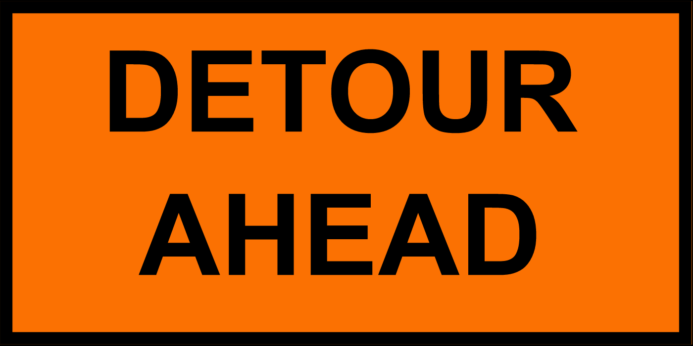 DETOUR  SR 95 Bridge Project 2019