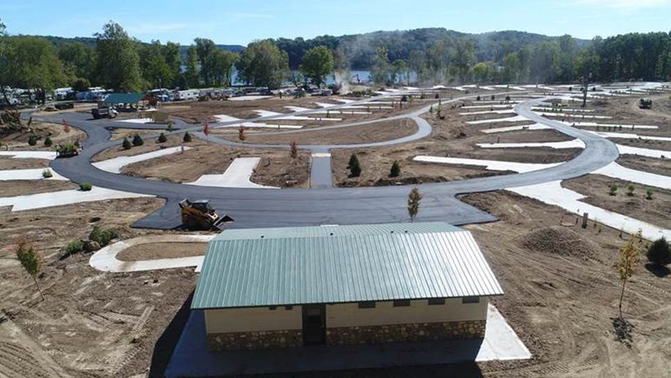 Pleasant Hill's New Campground Nearing Completion
